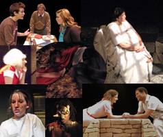 Theatre students picture collage